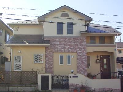 外壁塗装工事 千葉県 成田市 塗り替え 住宅
