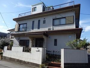 外壁・屋根塗替え工事 千葉県船橋市KA様邸