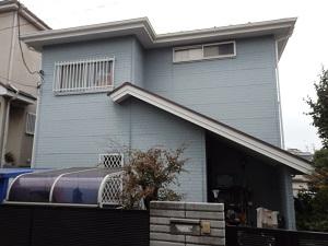 外壁・屋根 塗替え工事 千葉県船橋市IN様邸