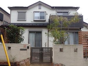 外壁・屋根 塗替え工事 千葉県船橋市IR様邸