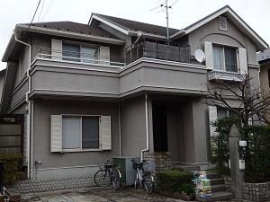 外壁・屋根 塗替え工事 千葉県船橋市NA様邸