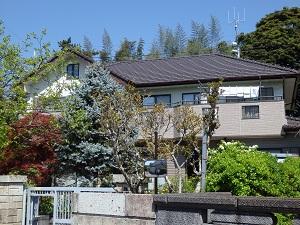 外壁・屋根 塗替え工事 千葉県船橋市SA様邸