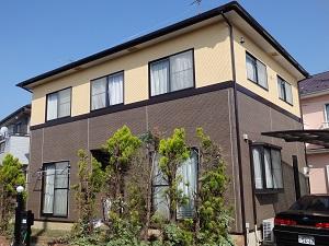 外壁・屋根 塗替え工事 千葉県船橋市FU様邸
