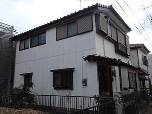 外壁 塗替え工事 千葉県船橋市NI様邸