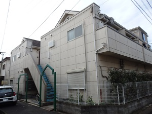 アパート外壁・屋根 塗替え工事 東京都杉並区OG棟